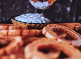 Delicata Squash Rings with Yogurt Dip