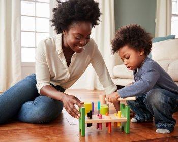 Apoiando o Desenvolvimento de Crianças Pequenas e Recursos Familiares